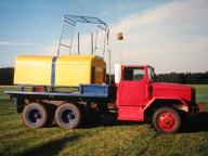 Tost Doppeltrommelwinde auf US Truck